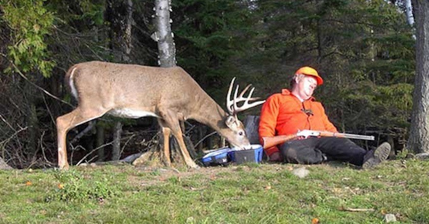 deer hunting position